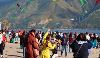foto del festival degli aquiloni