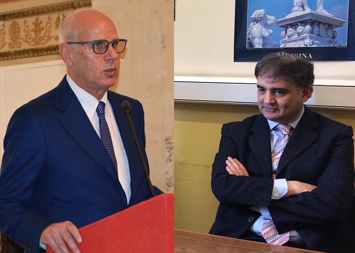 Scontro fra i candidati sindaco di Messina Dino Bramanti e Pippo Trischitta