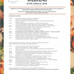 programma del food and flower weekend taormina - messina