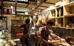 Foto della cucina allasd