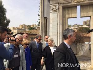 inaugurazione del giardino mediterraneo del museo regionale interdisciplinare di messina - mume - nello musumeci