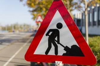 cartello lavori stradali