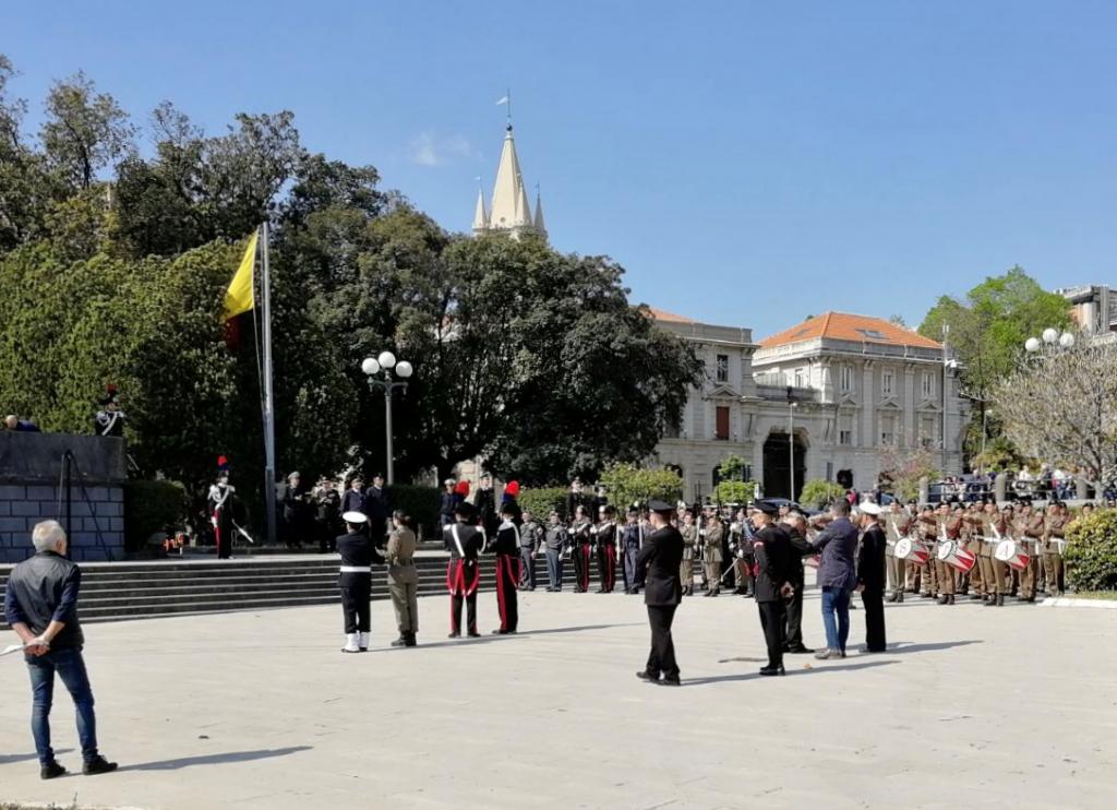 cerimonia commemorativa liberazione