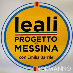 Logo quadrato Leali - Progetto per Messina con Emilia Barrile candidato sindaco elezioni amministrative 2018