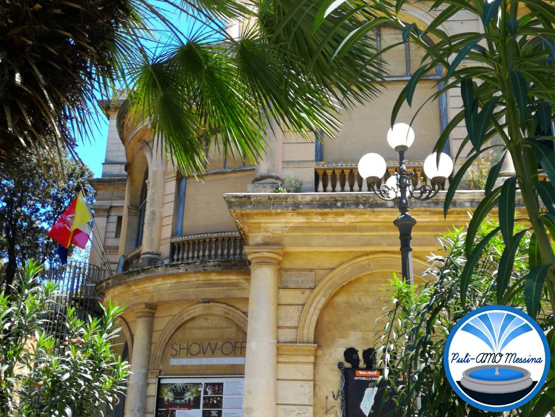 Foto di piazza Bellini Messina - progetto rigenerazione di Puli-Amo Messina