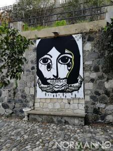 Giardino di Montalto riaperto da Puli-Amo Messina - Nuova opera d'arte