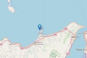 Terremoto a Milazzo. Scossa di magnitudo 3.4