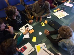 tavolo di lavoro del progetto arrival cities, realizzato all'interno di urbact III - messina