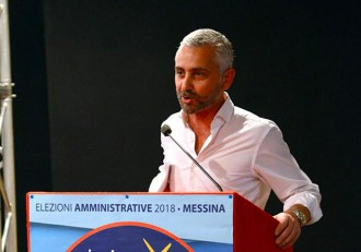Foto di Nino Germanà, lista civica Insieme per Messina
