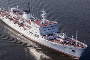 Al porto di Messina una nave per la ricerca oceanografica della Marina russa