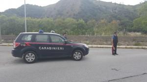 Foto auto dei Carabinieri di Saponara - Messina