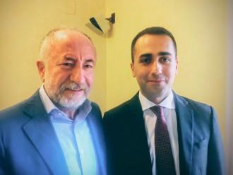 il candidato sindaco Gaetano Sciacca vola a roma per incontrare Luigi Di Maio, leader del movimento 5 stelle