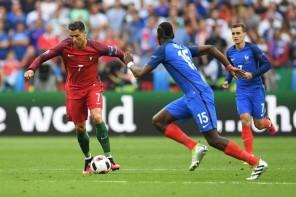 Ronaldo-Pogba-Griezmann-francia-portogallo-calcio-mondiali-europei