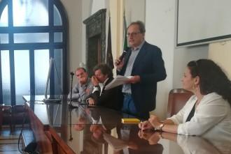 Foto di Antonio Saitta, presentazione lista elezioni amministrative messina 2018