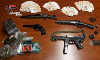 Sequestro armi e droga a santa lucia sopra contesse