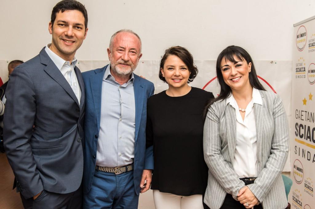 Ufficializzazione candidatura Gaetano Sciacca - foto di gruppo 05