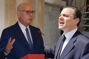Confronto Dino Bramanti e Cateno De Luca - amministrative messina 2018