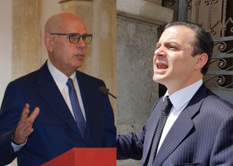 Confronto Dino Bramanti e Cateno De Luca - amministrative messina 2018