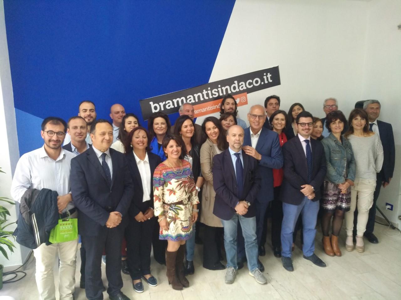 Foto candidati lista bramanti sindaco - elezioni amministrative 2018 messina