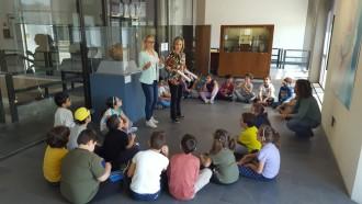 foto bambini primaria al museo regionale di messina