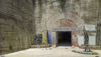 foto dell'ingresso del museo del 900 di messina