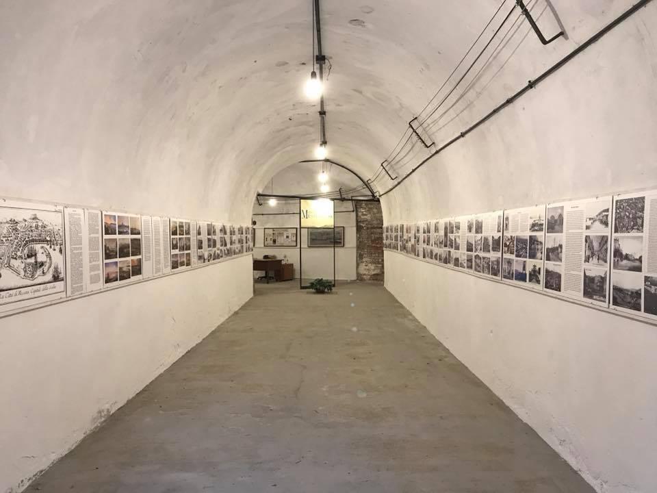 Foto di un interno del Museo del 900 di Messina