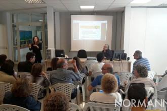 Foto dell'incontro tenuto dalla Protezione Civile con il Comitato Giovani Sordi di Messina