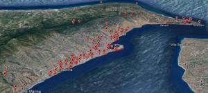 mappa dei Beni comuni a messina del Movimento 5 stelle