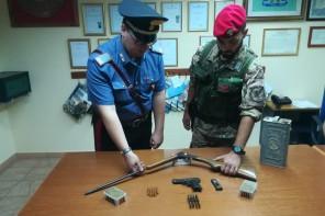 Detenzione illegale di armi e munizioni. Arrestato 66enne