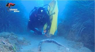Foto recupero subacqueo
