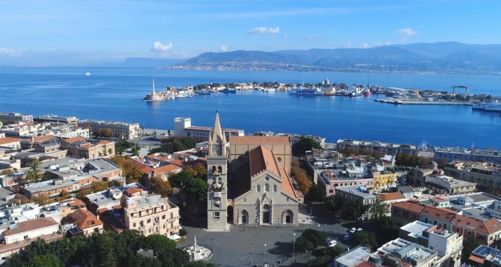 Fotogramma del video promozionale per i crocieristi realizzato dall'Autorità Portuale di Messina