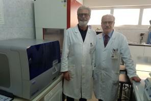 I proff. Giovanni Tuccari (a sx) e Giuseppe Giuffrè