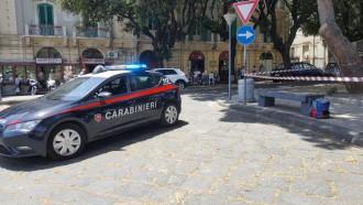 Zaino sospetto ritrovato a piazza Duomo, Messina - intervento Carabinieri