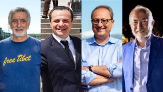 Foto di Accorinti, De Luca, Saitta e Sciacca: 4 dei 7 candidati sindaco alle amministrative 2018 di Messina