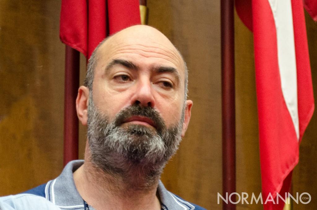 Primo piano dell'assessore Salvatore Mondello, giunta di Cateno De Luca - Messina
