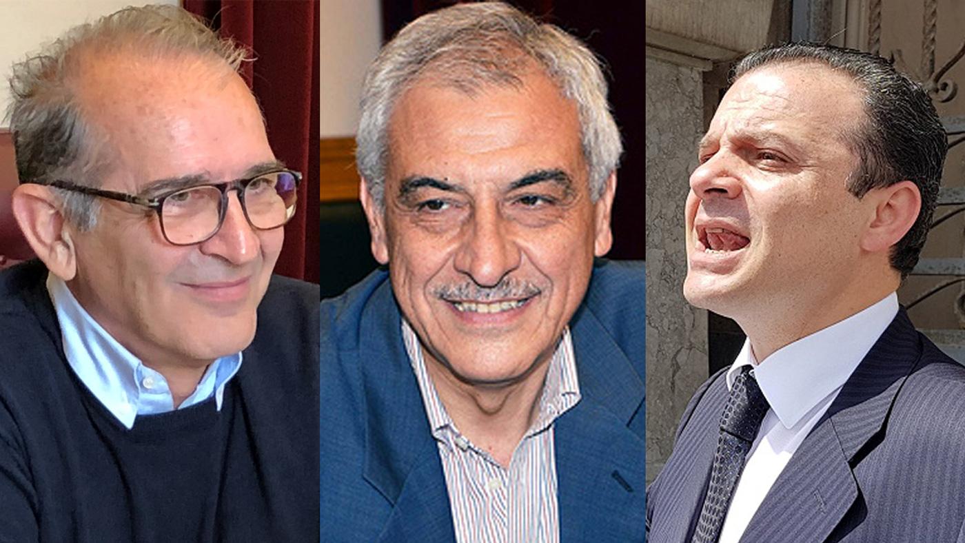 Confronto a tre - De Cola, Cacciola e De Luca, elezioni amministrative messina 2018