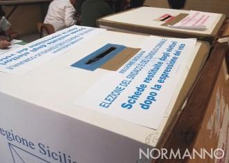 Foto dell'urna voti per le elezioni amministrative messina 2018
