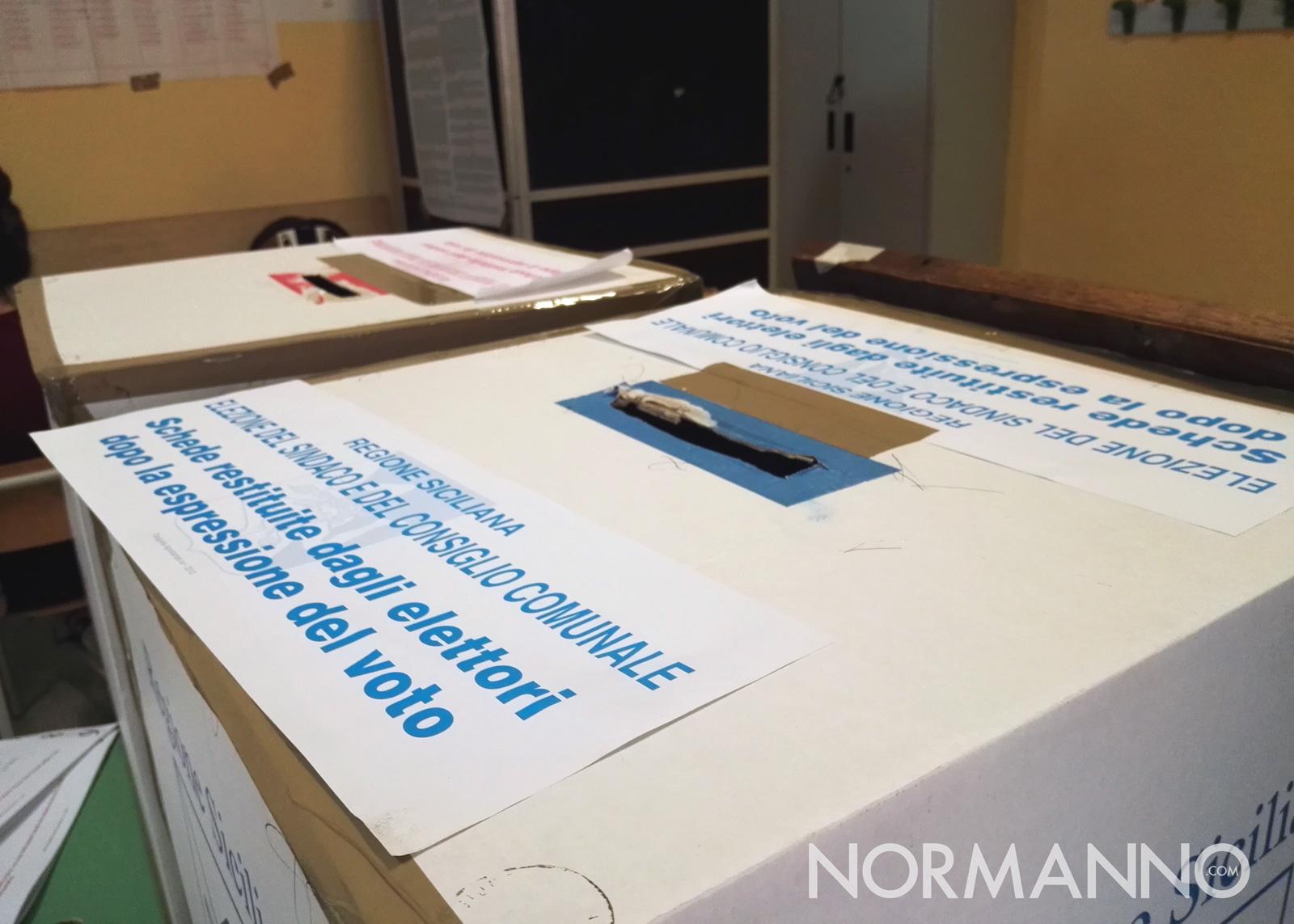 Foto urna elezioni amministrative messina 2018
