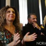 Foto di due assessori della Giunta di Cateno De Luca: Carlotta Previti e Pippo Scattareggia