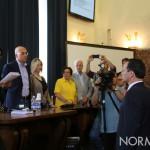 Giuramento del nuovo sindaco di Messina, Cateno De Luca