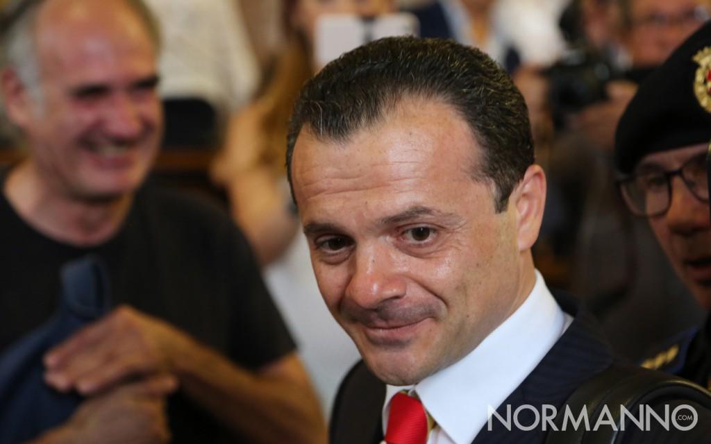 Primo piano del nuovo sindaco di Messina - Cateno De Luca