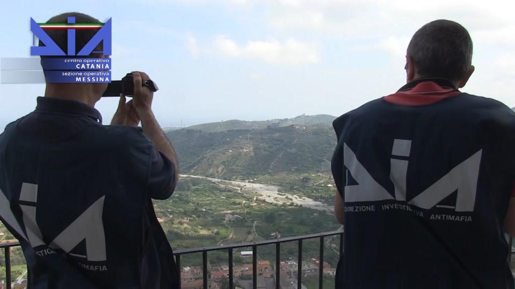 Foto degli agenti della DIA di Messina, investigazioni su Pietro Nicola Mazzagatti