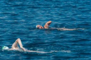 Traversata Stretto di Messina di Cristina Guidi e Massimiliano Granata - AISM