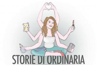 """Spettacolo """"Storie di ordinaria maternità"""" - Crop della locandina di Maddalena Vantaggi"""