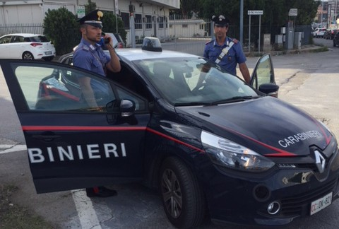 Foto di repertorio - Carabinieri Messina Sud