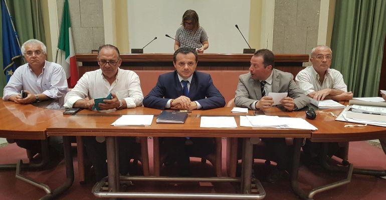 Incontro Assemblea Territoriale Idrica Messina - Cateno De Luca, Città Metropolitana e AMAM