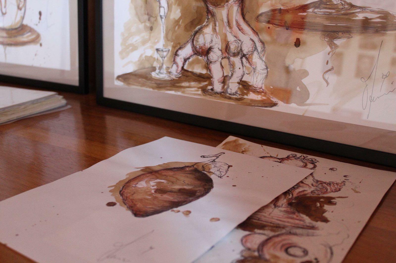 foto dell'opera dell'artista messinese Manuel Cavalli