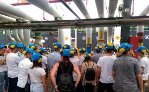 Studenti in visita alla Raffineria di Milazzo