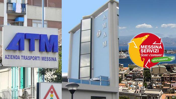 Foto di repertorio che si riferisce alle tre società partecipate del Comune di Messina. ATM, AMAM e Messinaservizi Bene Comune