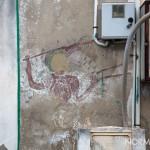 Ritrovamento di un murales a maregrosso realizzato intorno agli anni '70 da Giovanni Cammarata